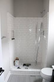 Remodel Bathroom Shower Shorewood Mn Bathroom Remodels Shower Tiles White Subway Tile