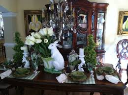 Small Picture Easter Spring Kitchen Dining Room Decorating Ideas