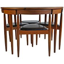 ideas of mid century modern dining table four chairs hans olsen frem rojle unique mid century modern round dining table