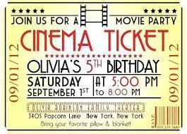 Movie Night Invitation Templates Movie Night Invitation Template Free Beautiful Movie Night Party