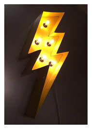 Marquee Lightening Bolt 24