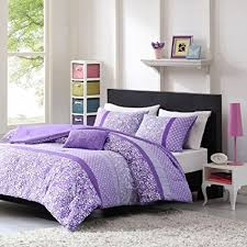 bed sets for teens purple. Beautiful Bed Teen Girl Comforter Sets Purple Lavender Lilac Bedding Flower Paisley Polka  Dot Design With Embroidered Pillow To Bed For Teens A