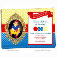 Snow White Birthday Invitations - marialonghi.Com