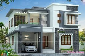 new home plans kerala style elegant two story 4 bedroom house style