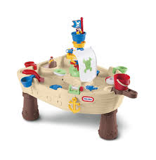 Little Tikes Outdoor Kitchen Amazoncom Little Tikes Anchors Away Pirate Ship Water Play Table