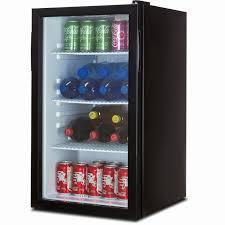 Mini Fridge Clear Door Beautiful Della Beverage Refrigerator Cooler ...