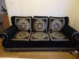 Three Piece Versace Sofa Set