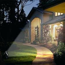 home depot outdoor flood lights solar ultra bright led garden spot light lawn white yard canada