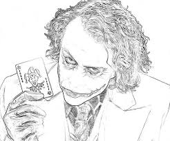 Small Picture 7 Pics Of Joker Coloring Pages Printable Batman Coloring Pages