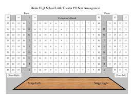 Drake Bell Center Seating Chart Thelin Jasper Drake Little Theater Seating