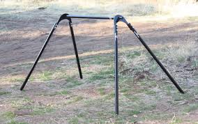 amazing swinging gong stand for ar500 steel gong targets steel target stands designs