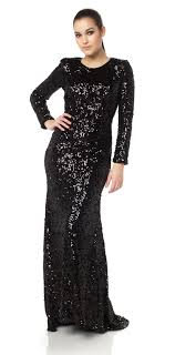 Embroidered Sheer Long Sleeve Aline Long Vneck Prom Dress Christmas Party Dresses Long Sleeve
