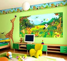 Kids Wallpaper For Bedroom Marvelous Animal Wallpaper For Kids Bedrooms For Home Design