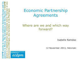 Economic Partnership Agreements Where Are We And Which Way Forward
