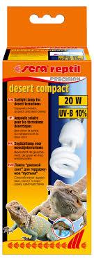 """<b>Лампа</b> аквариумная <b>Sera</b> """"Reptil Desert Compact UV-B"""", 10 ..."""