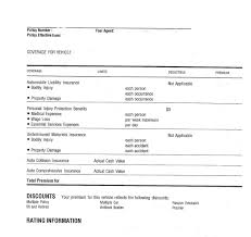 blank certificate of car insurance form with auto insurance things to know elm law and car