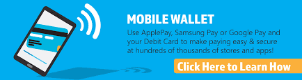 use apple pay samsung pay or google pay and your first national bank debit card to pay with a single touch it s an easy secure way to