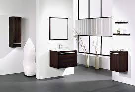 modern white bathroom ideas. Modern White Bathroom With Wooden Washbasin Cabinet Ideas Modern White Bathroom Ideas \