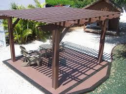 Simple Pergola pergola design ideas wood pergola kits deep brown decorate sample 4651 by xevi.us