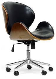 Office Chairs Pictures Bruce Walnut Office Chair Black Contemporaryofficechairs Chairs Pictures