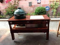 large big green egg table plans xl big green egg table plans