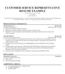Customer Services Resume Objective Customer Service Executive Summary Resume Objective Basic Vision For 15