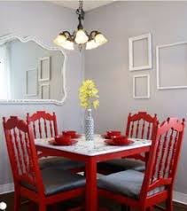 love the red table