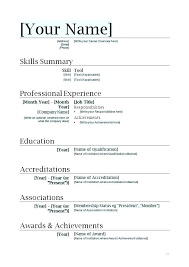 download a resume for free cv templates word 2007 free download resume layout format elegant