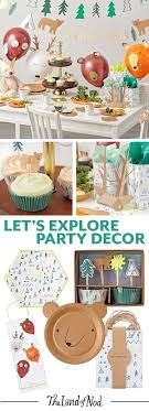 Make your future explorer's birthday party a blast with tons of outdoor  themed dcor and party