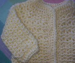 Crochet Baby Sweater Size Chart Crochet Makes 2015