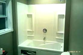 shower window trim kit using shower surround trim kit sterling accord white wall solid surface easy shower window trim