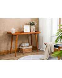 pine console table. Porthos Home Amber Pine Console Table
