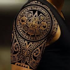 Aztec Tattoo Patterns Awesome 48 Aztec Tattoo Designs For Men And Women