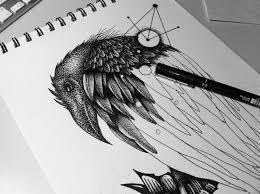 Stelios Spanoudakis Black Crow Tattoo