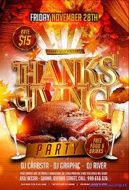 thanksgiving party flyer thanksgiving party templates happy thanksgiving