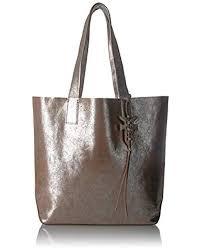 frye multicolor carson leather tote bag