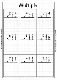 Multiplication 3 Digit By 2 Digit Twenty Two Worksheets