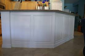 Wainscoting Panels On Kitchen Island Pinares Kitchen Island