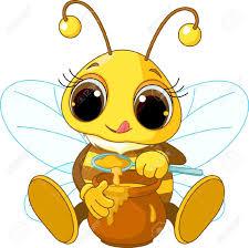 Stock Vector Cartoon Bee Cute Bee Bee Pictures