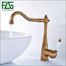 antique bronze kitchen faucet bathroom antique brass sink faucet antique brass single ceramic handle