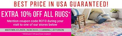 rug usa 10 percent best atlanta norcross