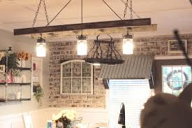 how to install a ceiling hook lovely diy ladder chandelier two paws farmhouse