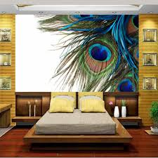 Peacock Colors Living Room Online Get Cheap Peacock Feather Background Aliexpresscom