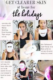 Neutrogena Light Therapy Acne Mask Results Get Clearer Skin For The Holidays With Light Therapy Acne