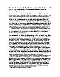 how does dickens describe pips first meeting miss havisham  page 1 zoom in