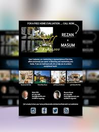 psd flyer poster templates real estate new for web upload