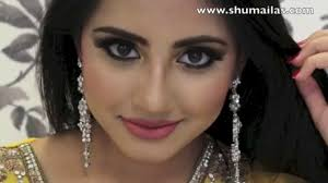 smokey eyes makup for mehndi nights stani indian bridal makeup tips video dailymotion