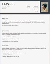latest format of cv download