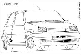 Coloriage Rallye Les Beaux Dessins De Autres Imprimer Et Colorier