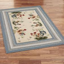 rooster area rugs kitchen design